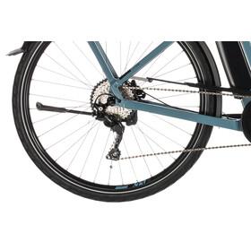 Cube Town Sport Hybrid Pro 500 Elcykel City blå/Petrol
